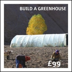£99: Build a greenhouse