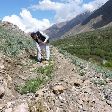 Afghanaid works to strengthen communities and mitigate the effects of climate change