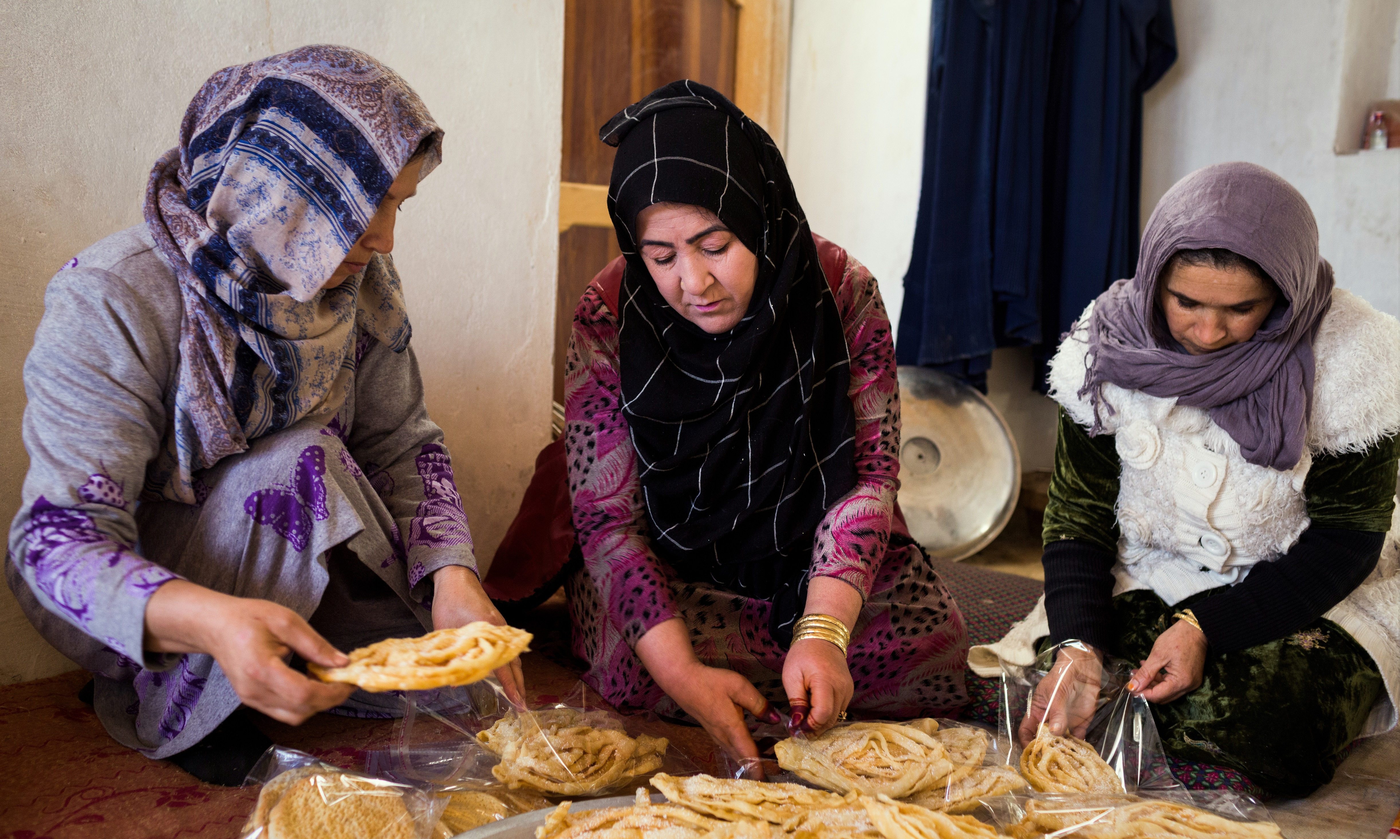 Sohila bakes cakes with Afghanaids womens economic empowerment programme