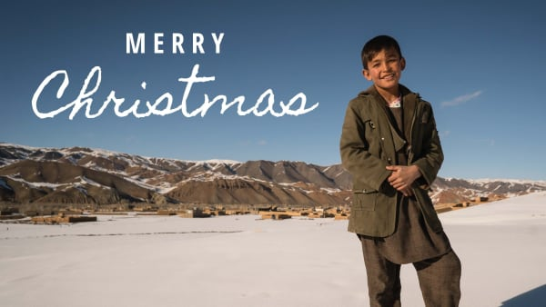 Afghanaid Charity Christmas Cards, pack of 10