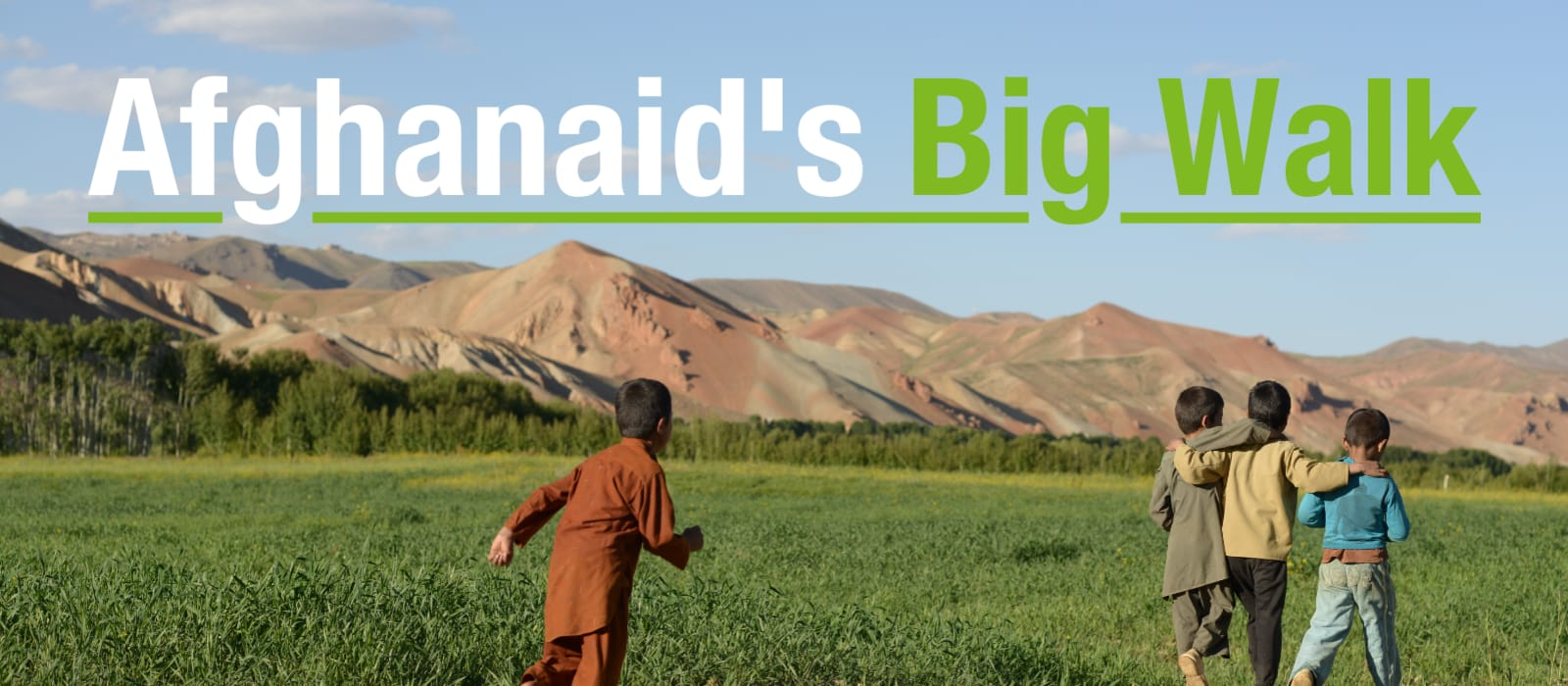 Afghanaid's Big Walk