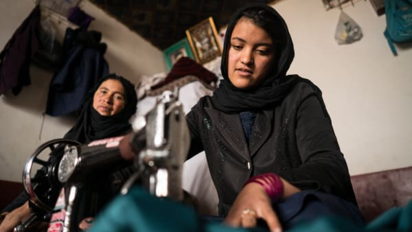Nickbhat is sewing her way to a brighter future