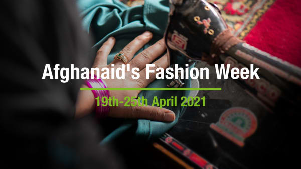 Afghanaid's Fashion Week