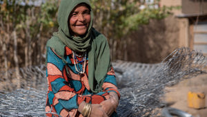 Bringing trees back to Bibi Sahra's village